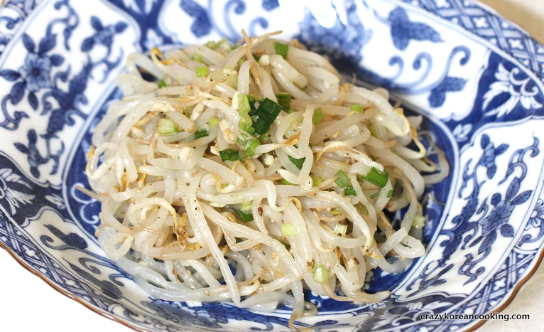 Sukju Namul (Korean Bean Sprout Salad) Recipes — Dishmaps