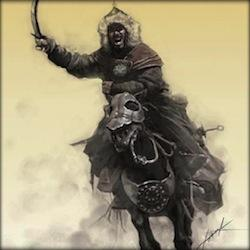 """Genghis Khan, emperor of the Mongol Empire <a href=""""/http://bostonks.com/index.php?mid=column&page=3&document_srl=64081"""" target=""""_blank""""> source </a>"""