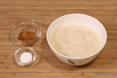 how to make korean sticky rice